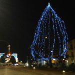 Agrigento, l'Albero di Natale prende vita