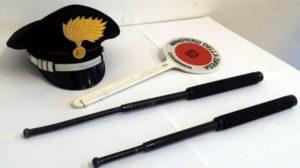 bastoni carabinieri
