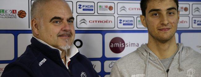 """La Fortitudo Agrigento pensa a Legnano. Ciani: """"gara molto importante, dobbiamo pensare a fare risultati"""""""