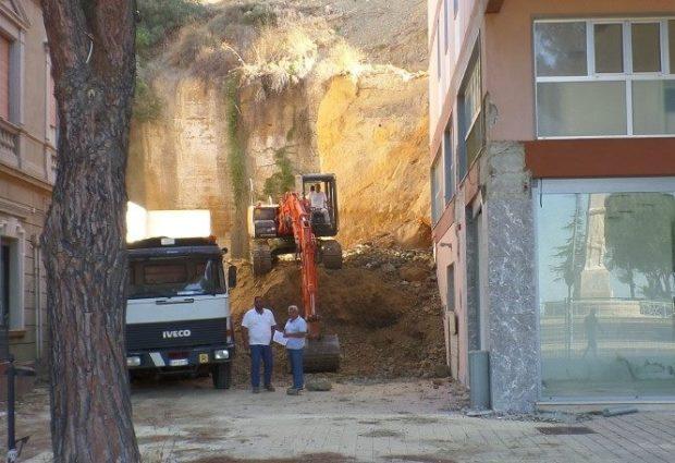 Agrigento, crollo del costone al Viale della Vittoria: disposti cinque rinvii a giudizio