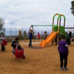 """Agrigento, arricchito """"Il Parco di Cristina"""" alla Villa Bonfiglio: nuovi giochini per i più piccoli"""