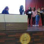"""Licata, tanti applausi per """"Social Gossip"""" e Francesco Pira al Liceo Linares"""