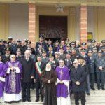 A Canicattì il precetto natalizio Interforze per le Forze Armate e di Polizia della provincia