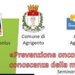 Agrigento, sabato convegno sulla prevenzione oncologica