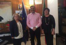 L'imprenditore indiano Panchavaktra in visita ad Agrigento: territorio di particolare interesse per i suoi affari e commerci