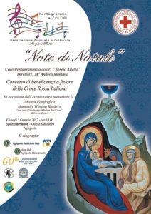 Locandina - Concerto Note d Natale