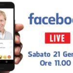 """Firetto in diretta """"live"""": domani nuovo appuntamento su Facebook"""