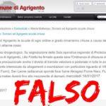 """Falsa """"allerta meteo"""" ad Agrigento: il Comune formalizza denuncia"""