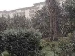 Neve nell'agrigentino, ancora scuole chiuse nei comuni montani