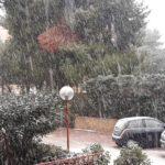 Torna la neve in provincia di Agrigento, difficoltà nella circolazione verso Palermo