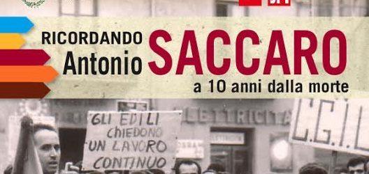 Canicattì, si ricorda la figura di Antonio Saccaro per ricordare la storia della CGIL