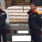 Pesce congelato di dubbia provenienza: sequestro tra Sciacca e Menfi