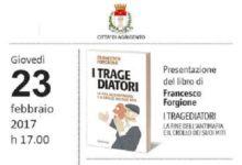"""Agrigento, si presenta il libro di Francesco Forgione """"I Tragediatori"""""""
