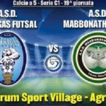 Akragas Futsal alla ricerca del riscatto: ad Agrigento arriva la Mabbonath – SEGUI LA DIRETTA