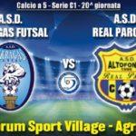 Un match che vale la Serie B: oggi la sfida fra l'Akragas Futsal e il Real Parco – SEGUI LA DIRETTA