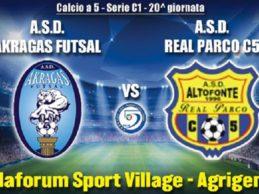 Un match che vale la Serie B: sabato la sfida fra l'Akragas Futsal e il Real Parco – SEGUI LA DIRETTA