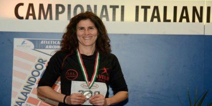 Atletica, argento per Giusi Parolino: nuovo record regionale