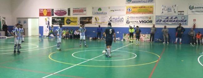 Amara sconfitta per l'Akragas Futsal: un ottimo Kamarina mette in difficoltà i biancoazzurri