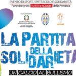 "Torna ad Agrigento ""La Partita della Solidarietà – Un Calcio al Bullismo"""