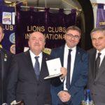 I Lions clubs Agrigento Chiaramonte, Agrigento host e Zolfare ricevono la visita amministrativa del Governatore del distretto siciliano