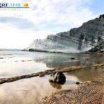 """Sabbia rossa alla Scala dei Turchi, MareAmico: """"probabilmente nulla di grave"""""""