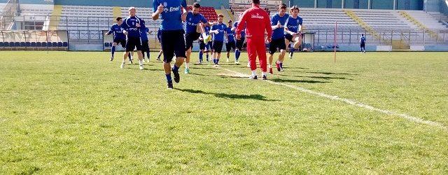 Akragas, domani la ripresa della preparazione atletica in vista della Casertana