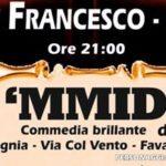 """Favara, prosegue la rassegna """"RASSEGNAti"""" con la commedia """"A 'MMIDIA"""""""