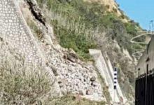 Cede porzione di costone in zona Caos: si ferma il Treno della Valle
