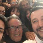 """Matteo Salvini a Lampedusa: """"accoglienza spettacolare"""""""