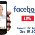 """Agrigento, il Sindaco Firetto torna in diretta """"live"""" su Facebook"""
