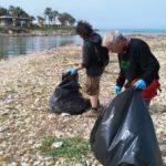 Agrigento, volontari e associazioni puliscono la foce del Fiume Akragas