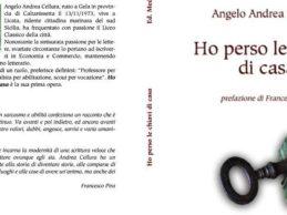 """Licata, domani la presentazione del romanzo  di Andrea Cellura """"Ho perso le chiavi di casa"""""""