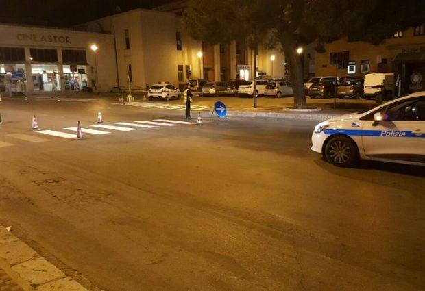"""Agrigento, il centro città si rifà il look in piena """"notte"""""""