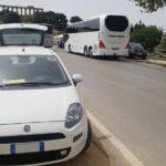 Agrigento, auto in sosta vietata: pioggia di multe lungo la Panoramica dei Templi