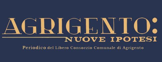 """Il Libero Consorzio festeggia i """"primi quarant'anni"""" del Periodico """"Agrigento: Nuove Ipotesi"""""""