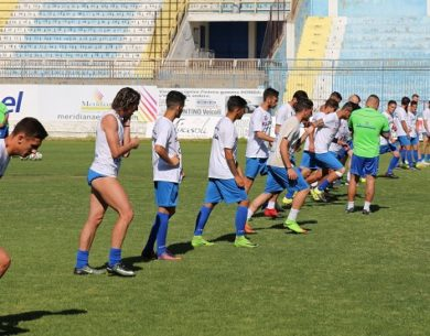 Akragas, primo allenamento settimanale dei biancoazzurri in vista del Melfi – FOTO