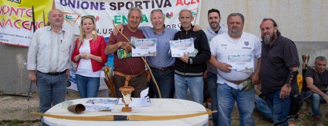 """Ravanusa: Successo del """"satiro"""" sul Monte Saraceno per il Campionato Regionale Arco"""