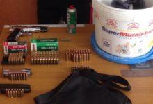 Palma di Montechiaro, deteneva nel garage pistola e munizioni: arrestato 29enne
