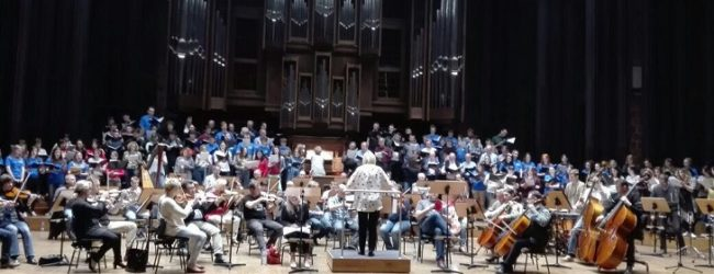 """Il Coro """"Santa Cecilia"""" di Agrigento incanta il pubblico al Festival Internazionale corale di Lublino"""