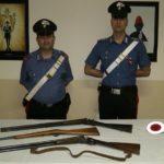 Naro, omessa custodia di armi: denunciate due persone