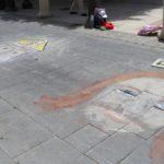 """Ravanusa, arte e allegria nel centro storico con """"I madonnari nelle scuole"""""""