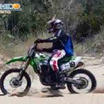 Motociclista nella riserva del fiume Platani: individuato e sanzionato il centauro