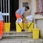 Porto Empedocle, sit-in degli operatori ecologici: in arretrato ci sono otto stipendi