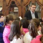 Canicattì, il Sindaco Di Ventura riceve gli alunni dell'Istituto Maria Immacolata