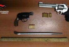 Favara, pistole sequestrate: una apparteneva alla vittima dell'agguato di via Torino