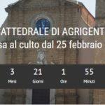Agrigento: un contatore segna il tempo che ha separato e continua a separare i cittadini dalla Cattedrale