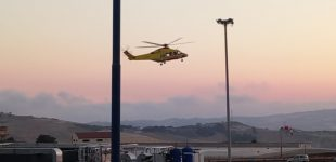 Agrigento, scontro auto-moto: sedicenne ferito trasferito in elisoccorso