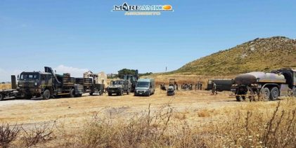 Punta Bianca, il Genio Militare ad Agrigento per il ripristino delle strade