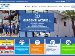 On line il nuovo sito web di Girgenti Acque