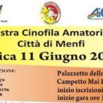 """A Menfi la """"Mostra Cinofila Amatoriale"""": il ricavato in beneficenza"""